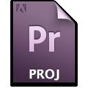 Document, File, Pr, Primary, Proj Icon