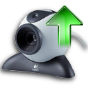 Arrow, Up, Webcamera Icon