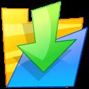 Down, Folder Icon
