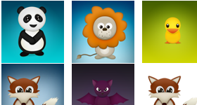 Cute Critters Icons