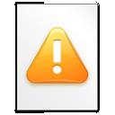 Alert, File Icon
