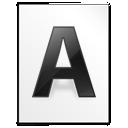 File, Font, Letter Icon