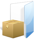 Box, Folder, Tar, Zip Icon