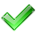 Apply, Check, Clean, Clear, Correct, Ok, Valid, Yes Icon