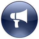 Advetisement, Announcement, Blog, Megaphone, Notifications, Promote Icon