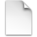 Document, Generic Icon