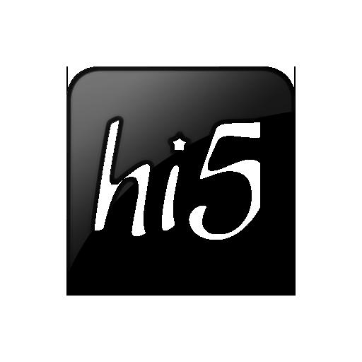 Hi5, Logo, Square Icon