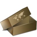 Box, Cardboard, Delivery, Inventory Icon