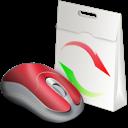 Ajout, Baggs, De, Et, Materiel, Mouse, Suppression Icon