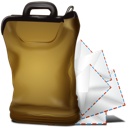 Bag, Mail Icon