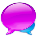 Balloon, Chat, Logo, Talk, Without Icon