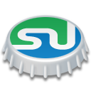 Beer, Cap, Stumbleupon Icon