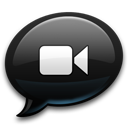 Bubble, Chat, Ichat, Video Icon