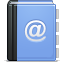 Adress, Contacts Icon