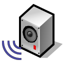 Audio, Beos, Loud, Music, Server, Speaker Icon