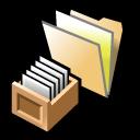 Beos, Folder, Queries Icon