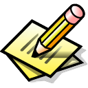 Beos, Paper, Pen, Write Icon