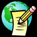 Editor, Globe, Html Icon