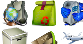 Bags and Boxes Icons