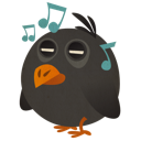 Bird, Music, Songbird Icon