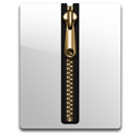 Blank, Gold Icon