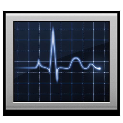 Activity, Diagnostics, Monitor, Screen Icon