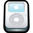 Apple, Ipod, White Icon