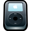 Apple, Black, Ipod Icon
