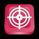 Mcafee, Target, Virus Icon