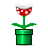 Mario, Piranha, Plant, Super Icon