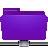 Folder, Remote, Violet Icon