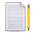 Document, Lined, Pen Icon