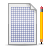 Document, Pen, Plaid Icon