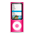 Apple, Ipod, Nano, Pink Icon