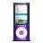 Ipod, Nano, Violet Icon