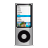 Apple, Ipod, Nano, Silver Icon
