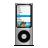 Apple, Ipod, Nano, Silver Icon