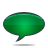 Bubble, Green, Speech Icon