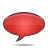 Bubble, Red, Speech Icon