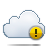 Alert, Cloud Icon