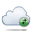 Cloud, Exchange Icon
