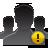 Alert, Group, User Icon