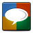 Google, Social, Talk Icon