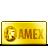 Amex, Card, Credit, Gold Icon