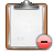 Clipboard, Delete Icon