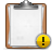 Alert, Clipboard Icon