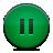Button, Green, Pause Icon