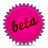 Beta, Pink, Splash Icon