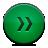 Button, Fastforward, Green Icon