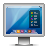 Display, Glossy, Mac, Screen Icon
